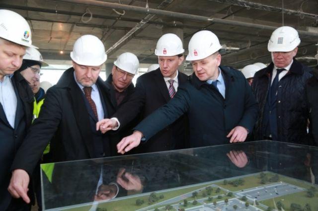 Новый аэрокомплекс, спроектированный в стиле хай-тек, будет одним из лучших в России.