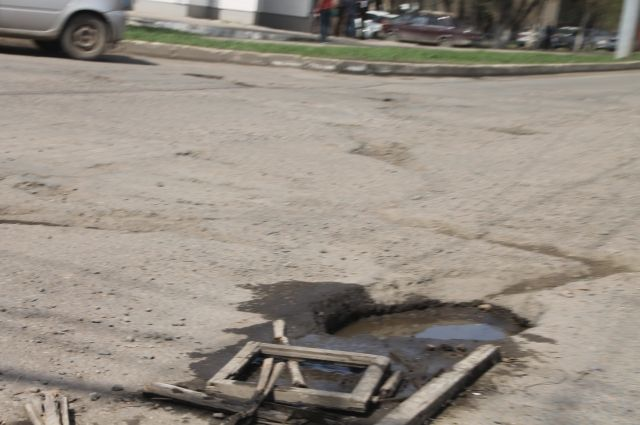 95% украинских дорог непригодны для эксплуатации