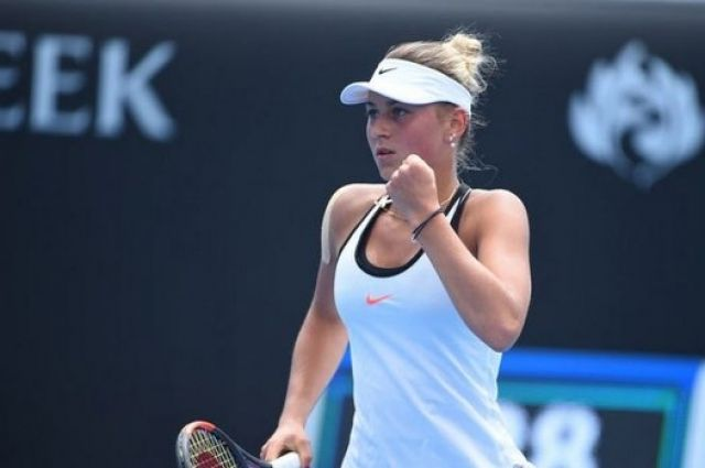 Теннисистка Костюк впервый раз вкарьере пробилась вполуфинал профессиональных состязаний