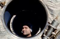 Валерий Поляков на борту МКС «Мир» в январе 1994 года
