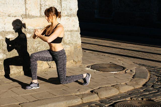 Весенняя гимнастика. Комплекс упражнений для сжигания лишних килограмм