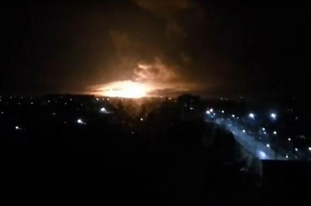 Обвинитель назвал диверсию первопричиной пожара навоенном складе под Харьковом