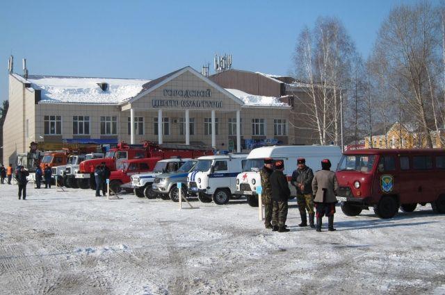 Казаки станицы «Мысковская» помогут следить за уровнем воды в реках.