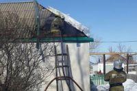 ГУ МЧС: уточнена информация о пожаре в Адамовском районе