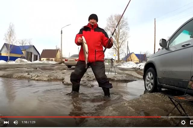 Аналогичное видео из Рубцовска оказалось популярнее.