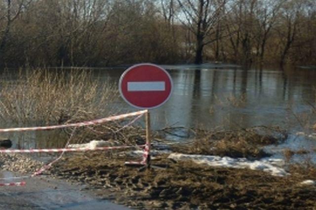 ВСапожковском районе три моста исчезли под водой