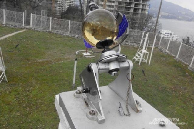 Гелиограф на старейшей метеостанции Крыма