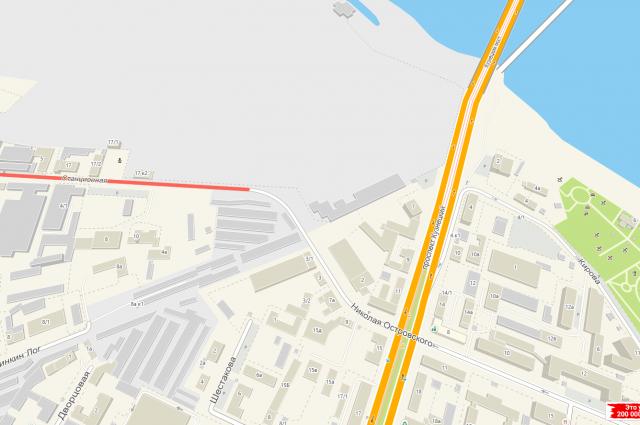 Инцидент произошел в центре областной столицы на улице Станционная возле дома №17.
