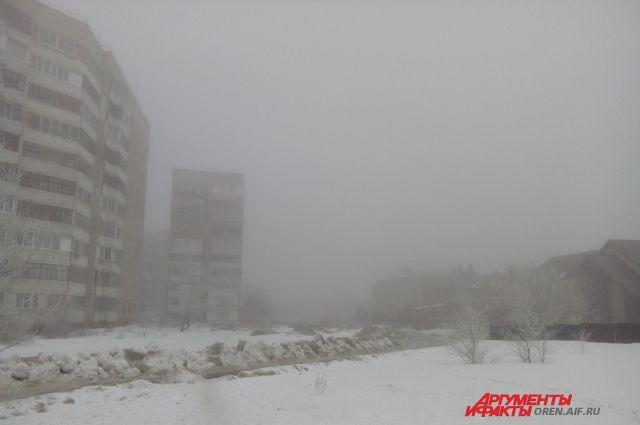МЧС: в конце рабочей недели в Оренбуржье будет туман