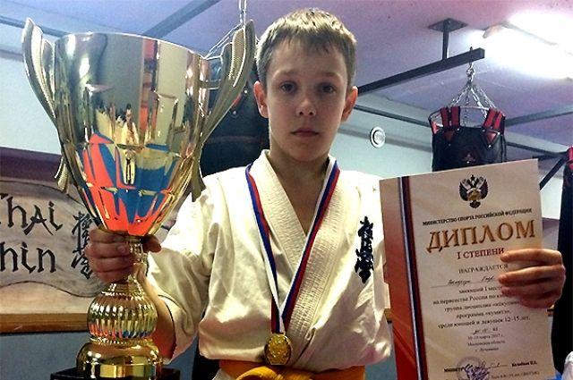 Калининградский боец Егор Вакарчук выиграл первенство России по карате-киокусинкай.