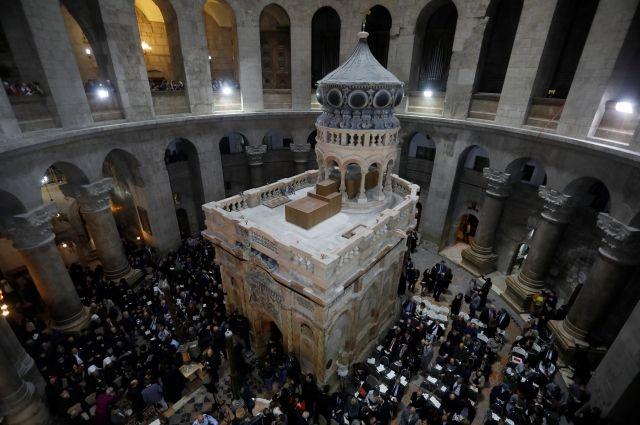 Гробница Христа может обрушиться из-за проблем с фундаментом – СМИ
