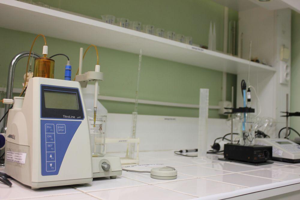 Центральная аналитическая лаборатория имеет две исследовательские площадки: лаборатория питьевой воды и лаборатория сточных вод.