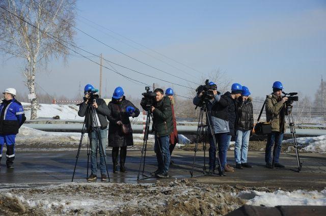 Омские журналисты впервые побывали на объекте.