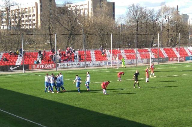 «Балтика» вырвала победу у«Спартака-2» ввыездном матче ФНЛ