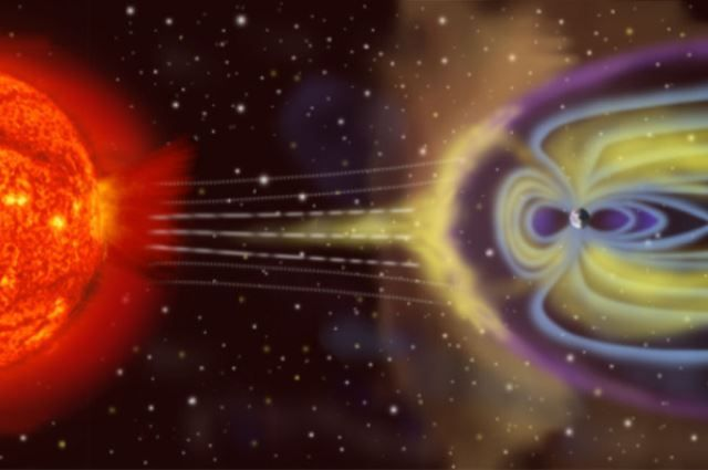 Дыра наСолнце вызвала необычную магнитную бурю