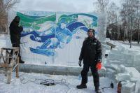 Александр Парфенов украшал и ледовых городок в Барнауле.