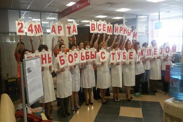На Ямале прошел флэшмоб, призывающий вести здоровый образ жизни.
