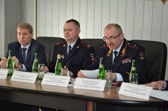 Оперативное совещание в ОМВД России по Пыть-Яху.