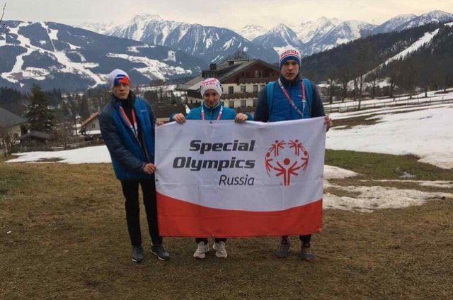Наши ребята уже завоевали три медали.