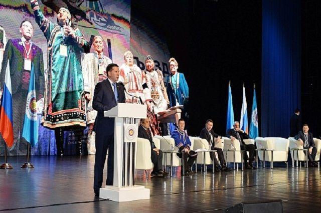 На Ямале проходит Съезд коренных народов Севера.