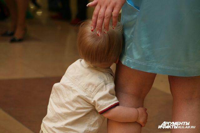 487 детей в Калининградской области воспитываются без родителей.