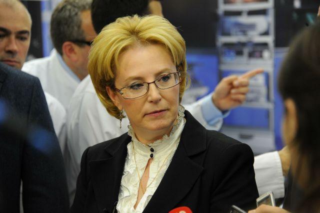 Вероника Скворцова посетила Тульскую областную клиническую поликлинику