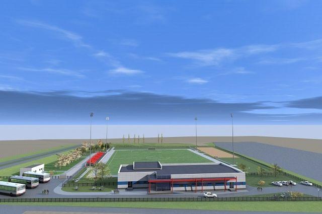 Реконструкция тренировочной площадки ВГАФК выполнена на55%