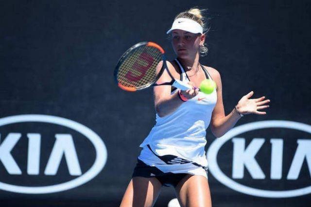 Украинская 14-летняя теннисистка несмогла пробиться вфинал турнира вТурции