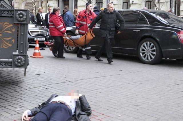 Появилось видео убийства бывшего депутата Государственной думы Дениса Вороненкова
