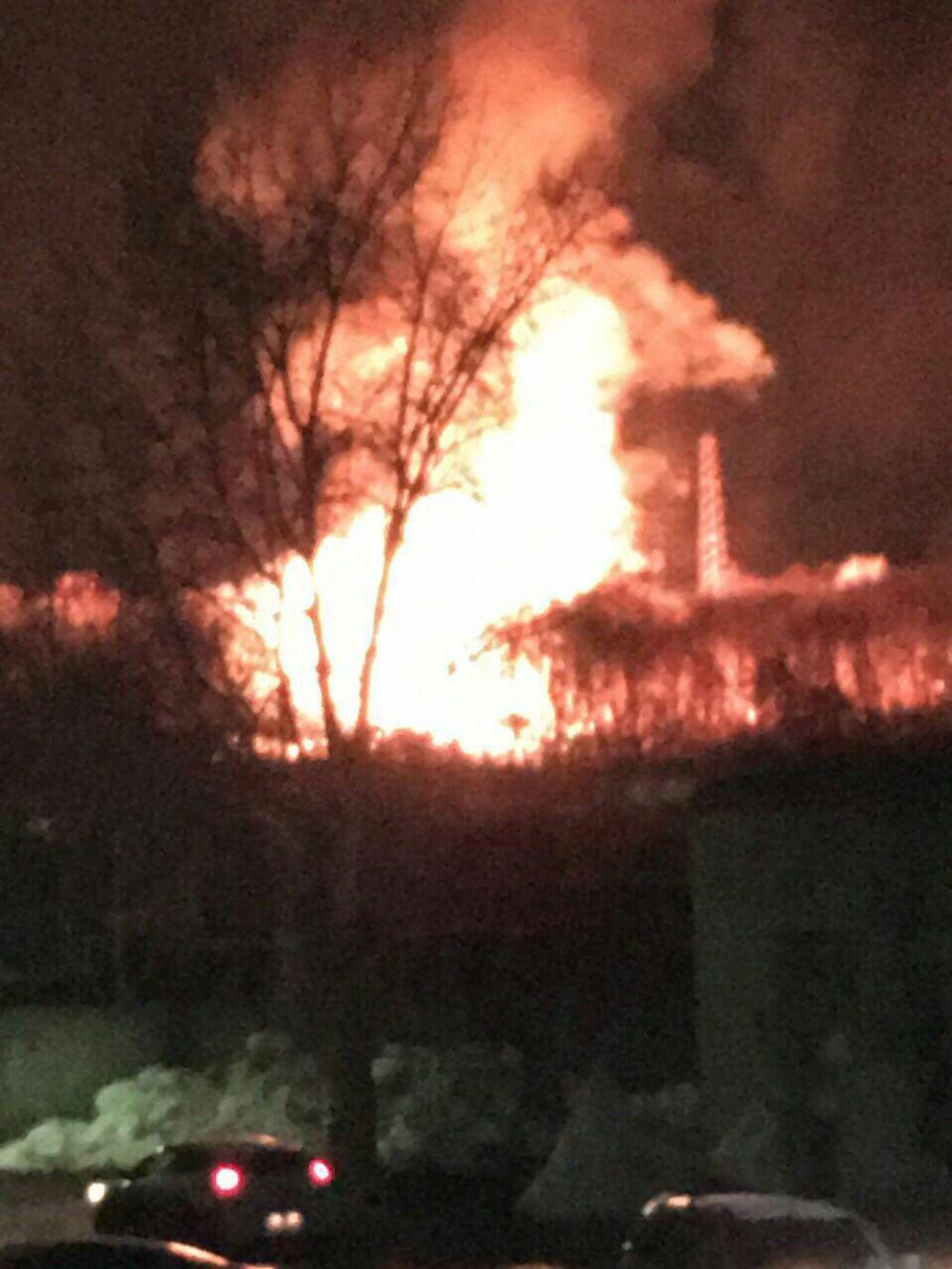 Толчки от взрыва ощутили жители Московского района.