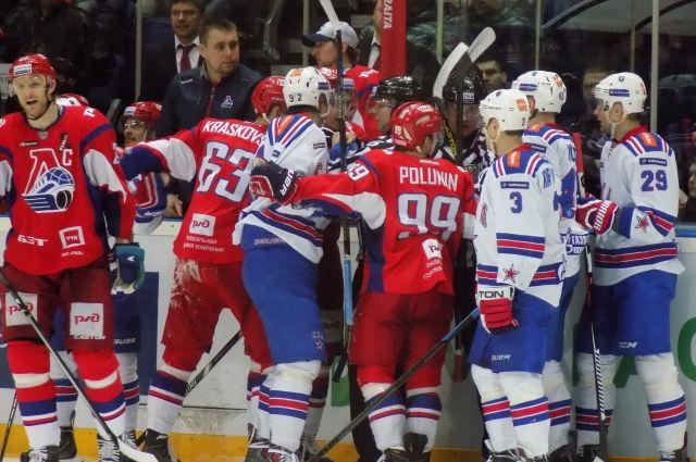 СКА вновь обыграл «Локомотив» в полуфинале Кубка Гагарина