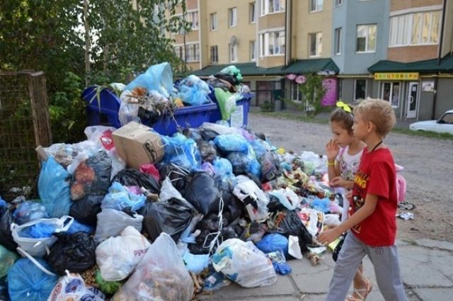 Львовский горсовет договорился стремя городами овывозе 900 тонн мусора