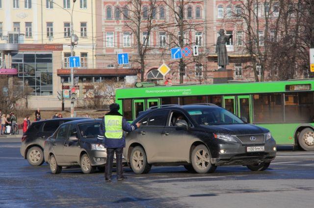 Нижегородская область стала первой врейтинге аварийности среди регионов Российской Федерации