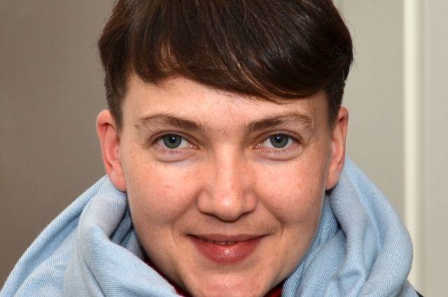 Надежда Савченко спела впрямом эфире