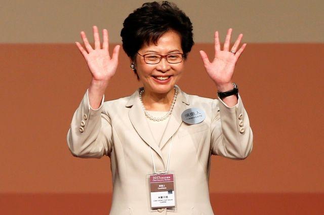 Навыборах руководителя Гонконга лидирует пропекинский кандидат Кэрри Лам