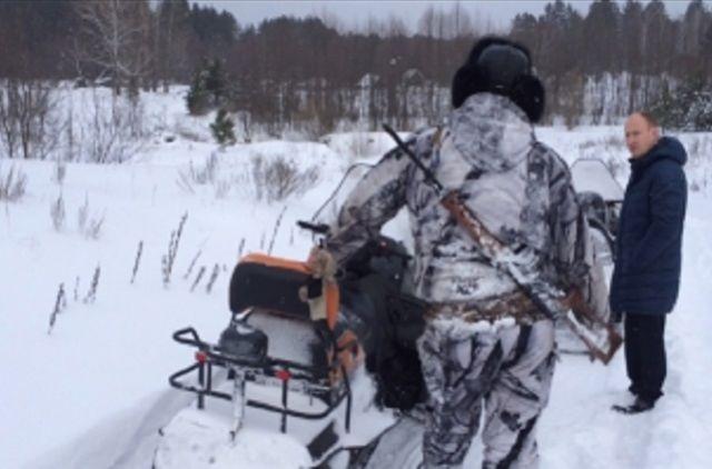 ВКрасноярском крае полицейские словили браконьера споличным