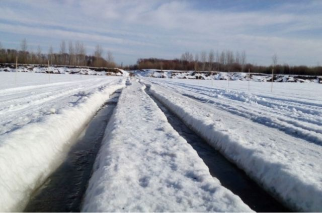 Скоро по льду нельзя будет проехать