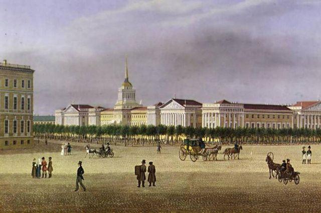 Дворцовая площадь в Санкт Петербурге Описание фото адрес как добраться интересные факты