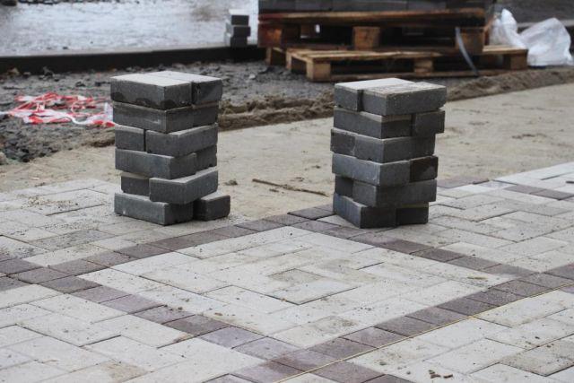 В Калининграде продолжат ремонт тротуаров на улице Чернышевского.