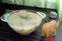 Готовим пряный постный суп.