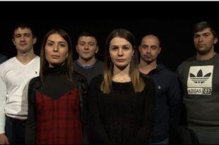 Бывшие ученики школы №1 города Беслана приняли участие в благотворительной акции «Сигнал SOS» в поддержку Соса Канукова.