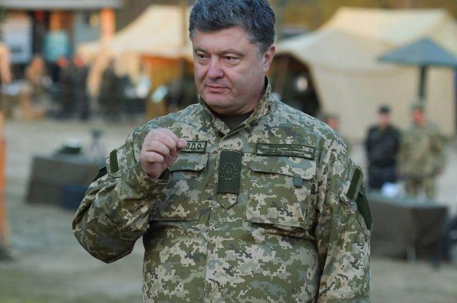 Порошенко рассказал о потерях бойцов Нацгвардии с начала АТО