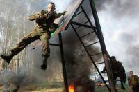 В военном парке планируют оборудовать огненно–штурмовую полосу препятствий, учебно–тренировочную вышку для парашютистов,  детскую спортивную полосу препятствий