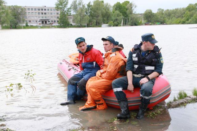 Наводнение в Затоне.