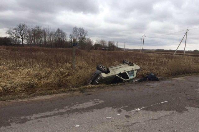Под Гурьевском в ДТП погиб мужчина, пострадали женщина и годовалый ребенок.