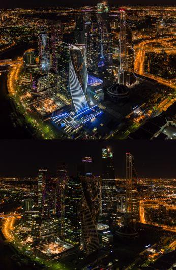 Вид на Московский международный деловой центр «Москва-Сити».