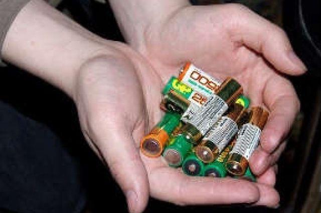 За 10 дней только одних батареек было сдано более 90 кг.