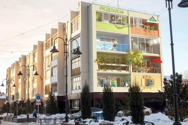 Новое граффити появится на ул. Валиханова.