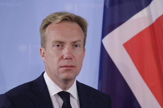 Норвежский МИД поведал озаинтересованности страны всотрудничестве сРФ