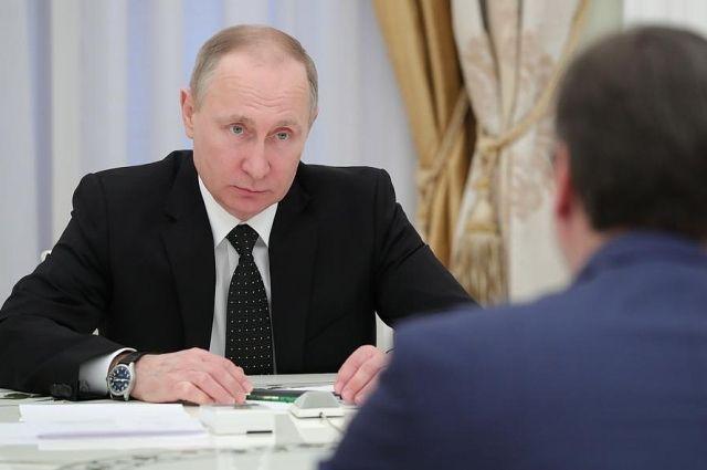 Владимир Путин встретился с премьер-министром Сербии